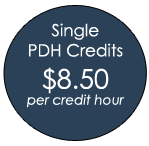 Single PDH Credits